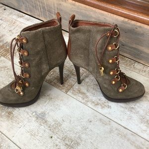 Tory Burch..... high suede boots